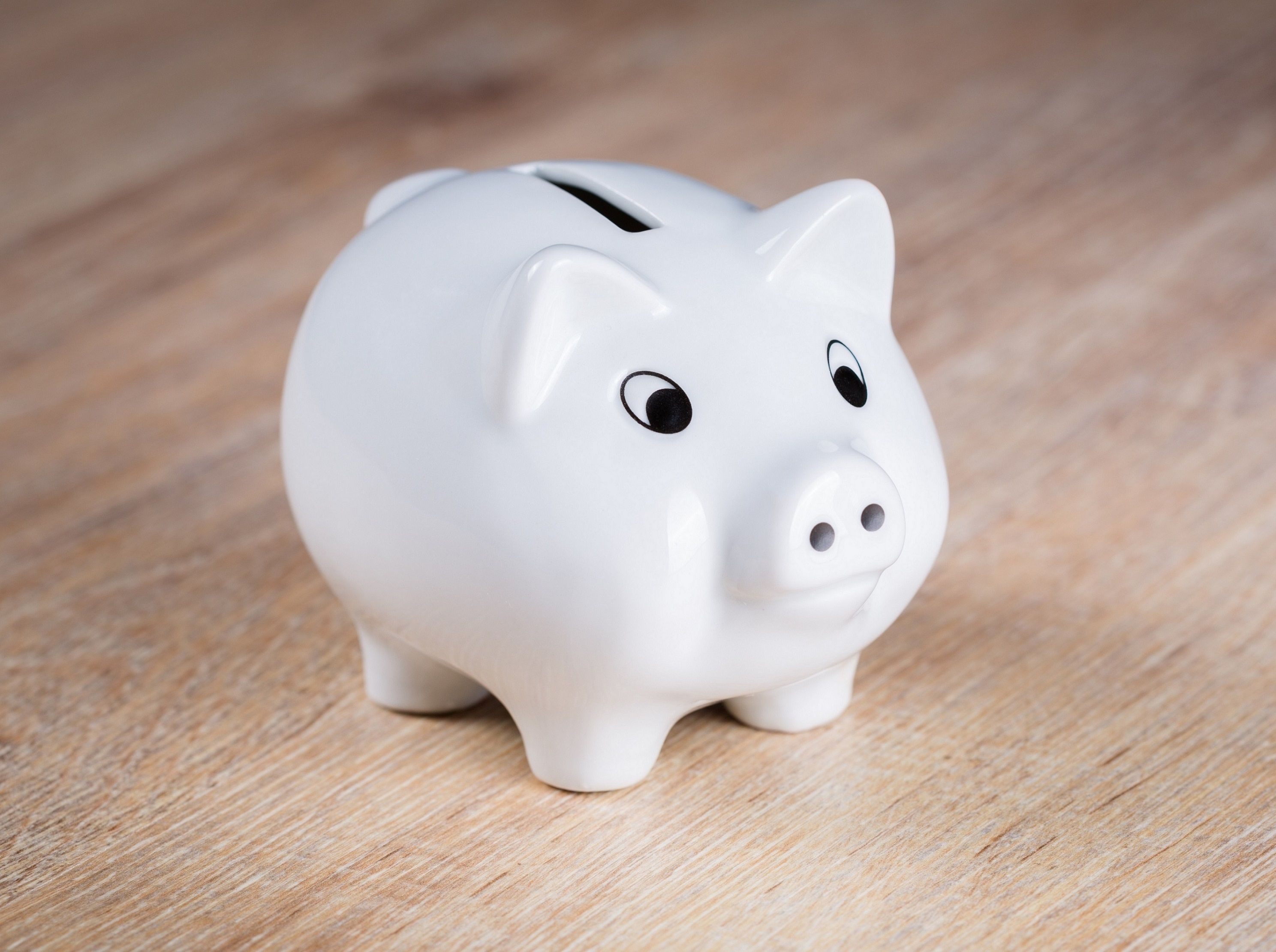 Can you deposit Trust in a Piggy Bank?
